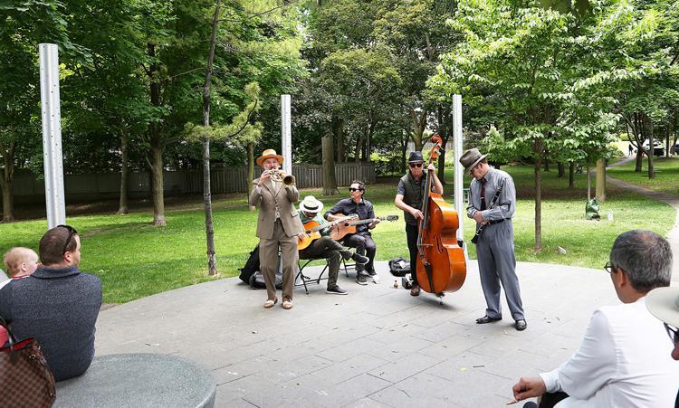 Music in Suydam Park